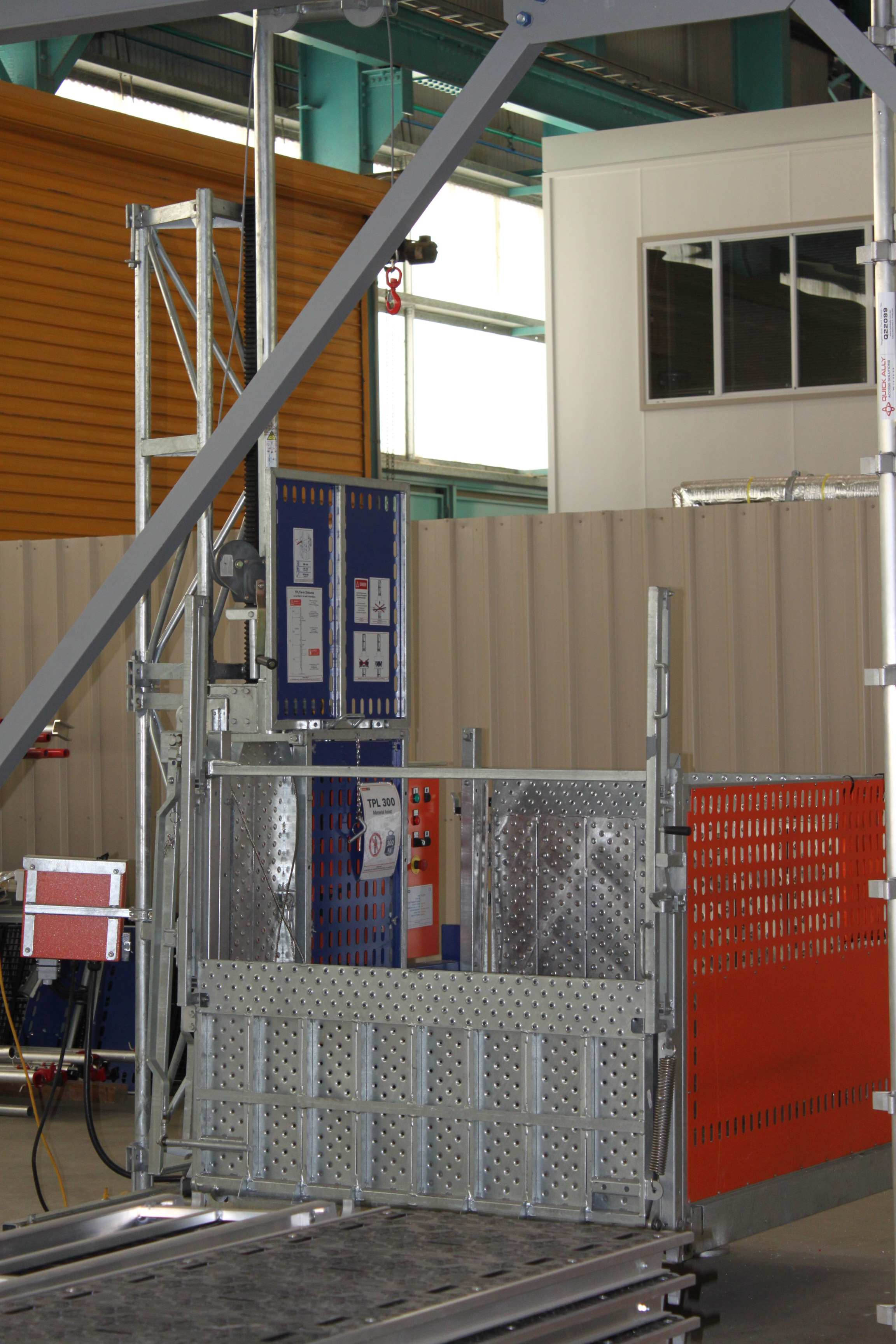 Materials Hoist - Construction Training Centre